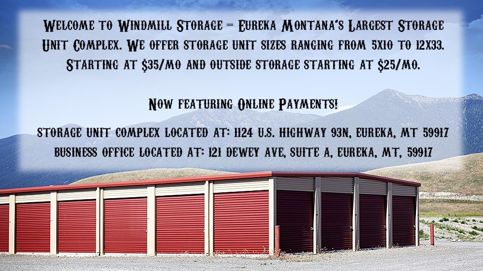 Windmill Storage, Storage Eureka Mo